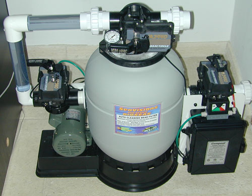 Using A Quot Swimming Pool Quot Type Sand Filter The Reef Tank